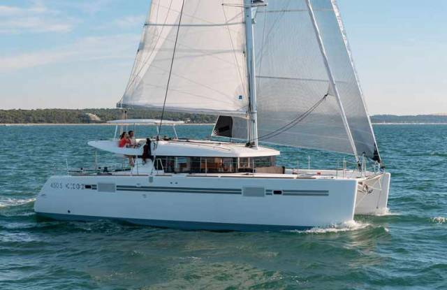 The new Lagoon 450 S sailing catamaran will be on display at Howth Yacht Club this weekend