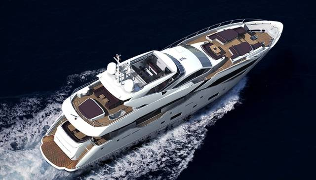 Sunseeker's 116 yacht is a new model for the boat show season