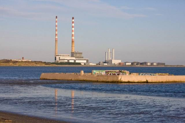 Sandymount Swimming Baths at Merrion Strand, where bathing quality remains poor in the EPA's latest assessment