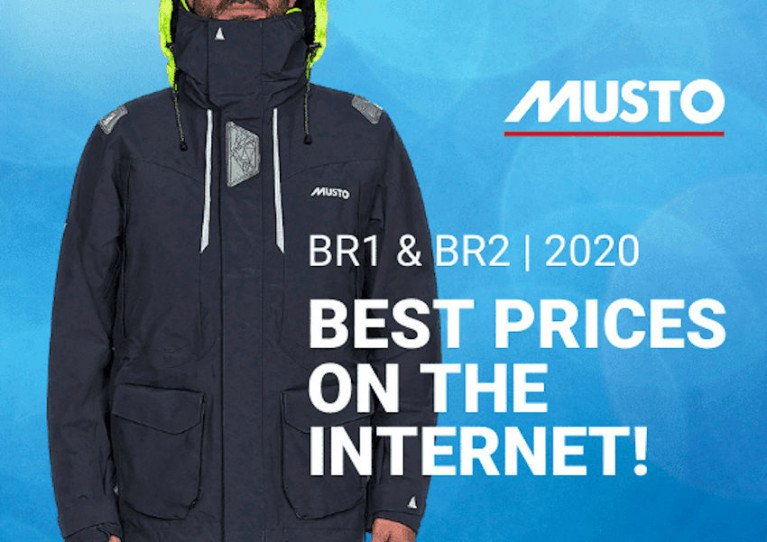 'Best Prices On The Internet' For Musto Inshore & Offshore Wear At CH Marine