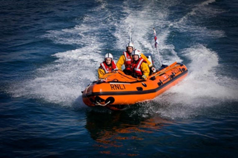 Dun Laoghaire Harbour RNLI Involved in Multi-Agency Search off Sandymount Strand
