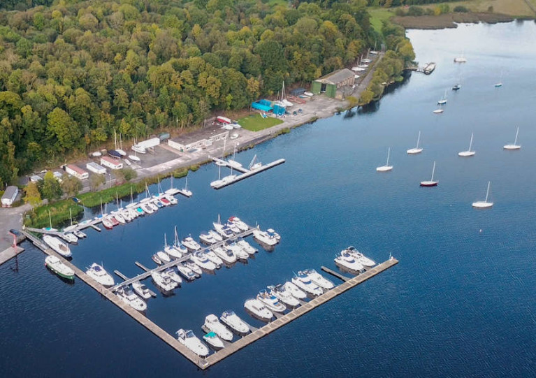 Notice of Diving Operations at Lough Erne Yacht Club