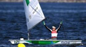Olympic silver medalist Annalise Murphy is Afloat.ie 'Sailor of the Month' for August
