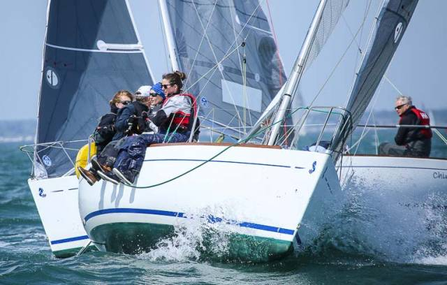 Beneteau 21 Racing on Dublin Bay
