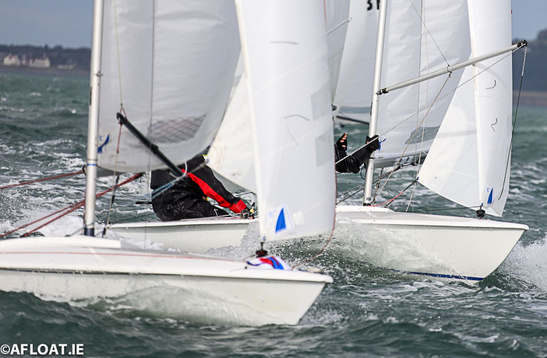 15 Flying Fifteens contested the 2020 National Championships at Waterford Harbour Sailing Club