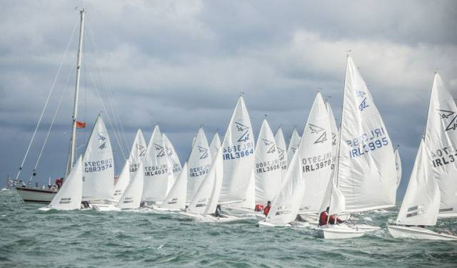 25 Flying Fifteens are expected to contest the East Coast Championships at DMYC this weekend