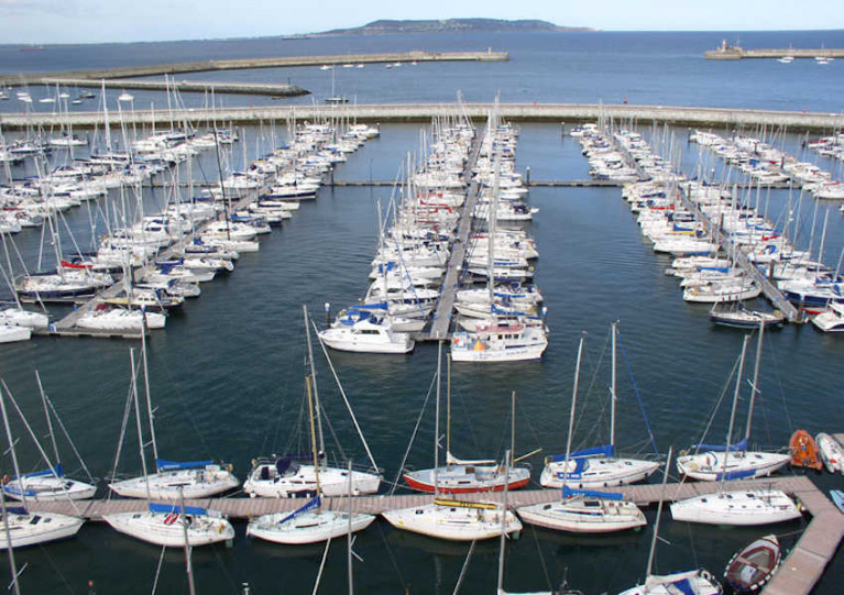 File image of Dun Laoghaire Marina, which is currently turning down requests from yachts seeking to come in from abroad