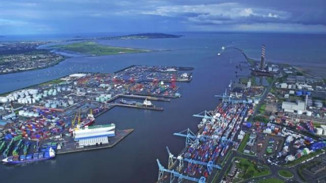 Trade statistics at Dublin Port Company show a half-year growth of 8.0%, the strongest six-month performance ever.
