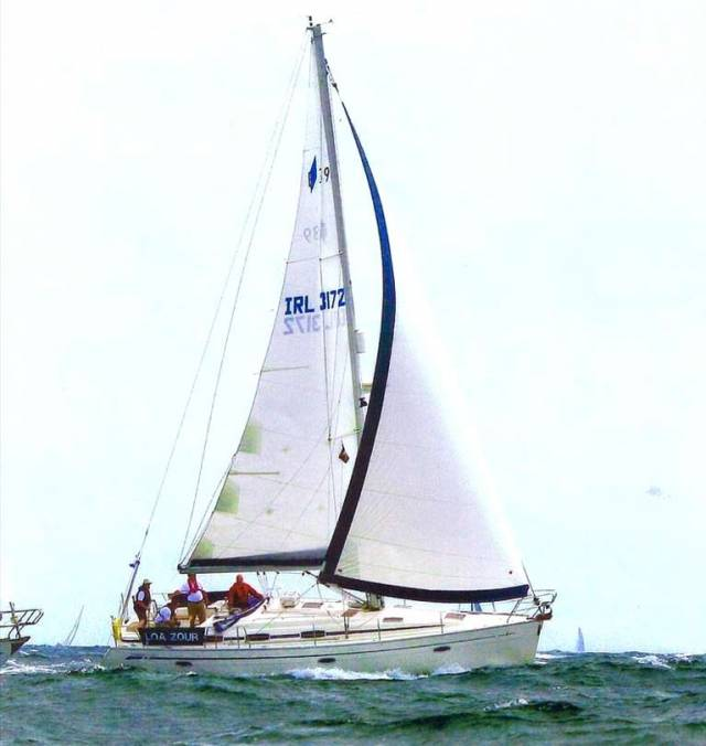 Kinsale yacht Loa Zour - crew rescued off northwest Spain last night