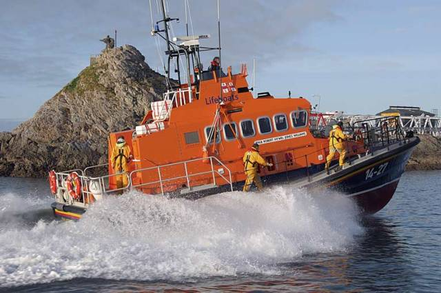 Fenit RNLI in Search for Missing Windsurfer During Storm Lorenzo