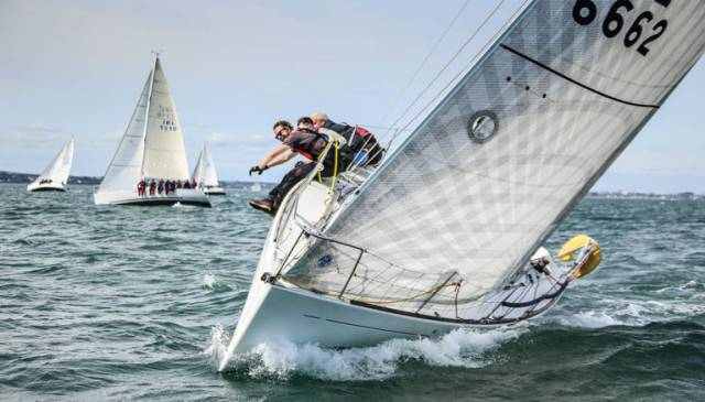 Bluefin Two (M & B Bryson) was a DBSC Beneteau 31.7 race winner