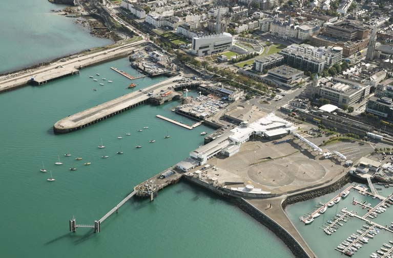 Dead space at Dun Laoghaire Harbour left by the departure of the ferry can be partly filled with a new public watersports facility to bring more people into the sport of recreational sailing and boating