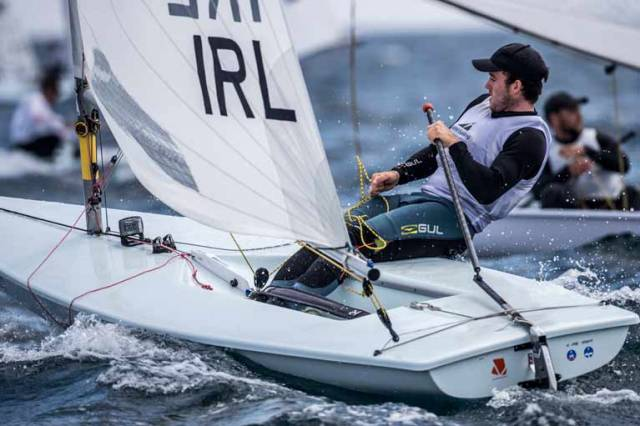 Solid Start for Laser Sailor Finn Lynch at Sailing World Cup, Hyères