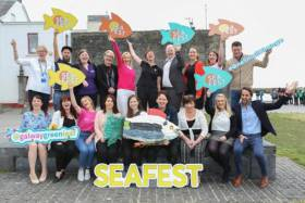 SeaFest supporters say no to plastics for this year's festival in Galway from Friday 29 June
