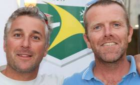 Nick Jones & Barry Hurley (right). Nick Jones 44.7 Lisa won last year's RORC Season's Points Championship, and unofficially has retained the title