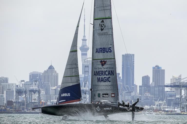 Problems Continue for UK Team INEOS at the America's Cup World Series in Auckland