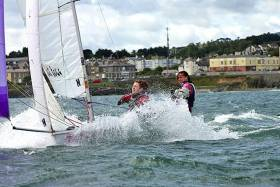 Members of Ireland's RS fleet in action