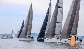 Light air racing at the 2016 ICRA National Championships at Howth Yacht Club