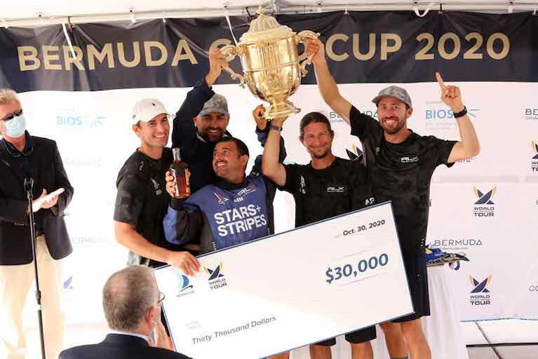 Team Stars & Stripes Win 70th Bermuda Gold Cup, 2020 Open Match Racing Worlds