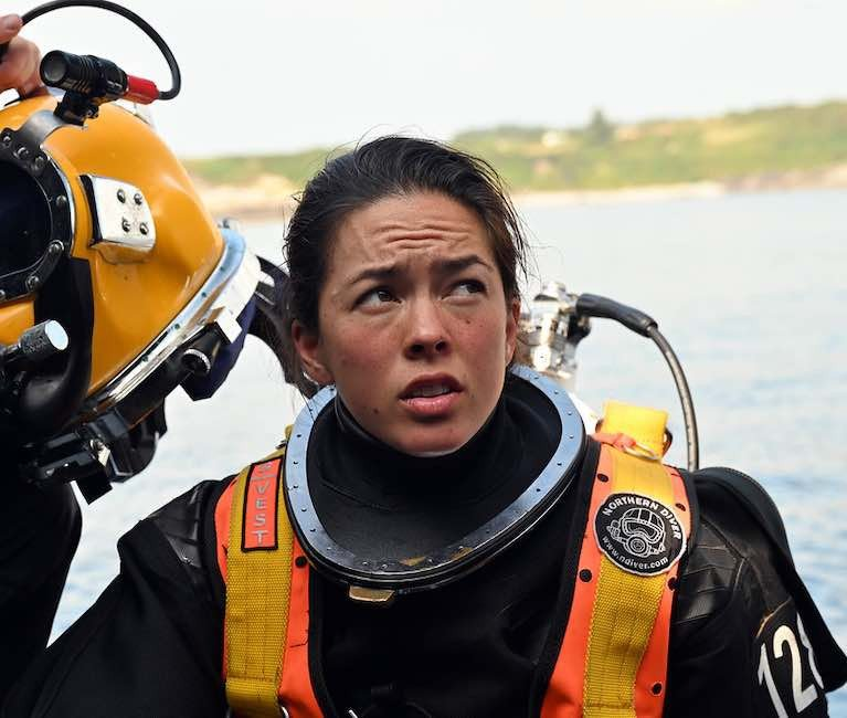 Sub-Lieut Tahlia Britton from Rossnowlagh, Co Donegal,