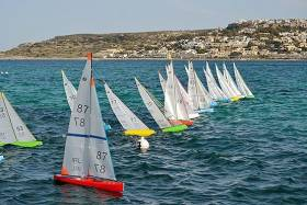 Racing in the IOM Model Yacht Open Series in Malta. Download results below.