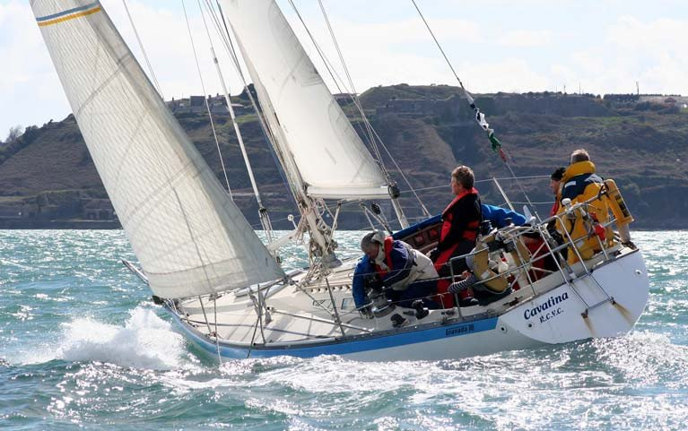 The ultimate expression of a return to normality in Irish life and sailing – the successful Cavatina has long carried the flag for Cork