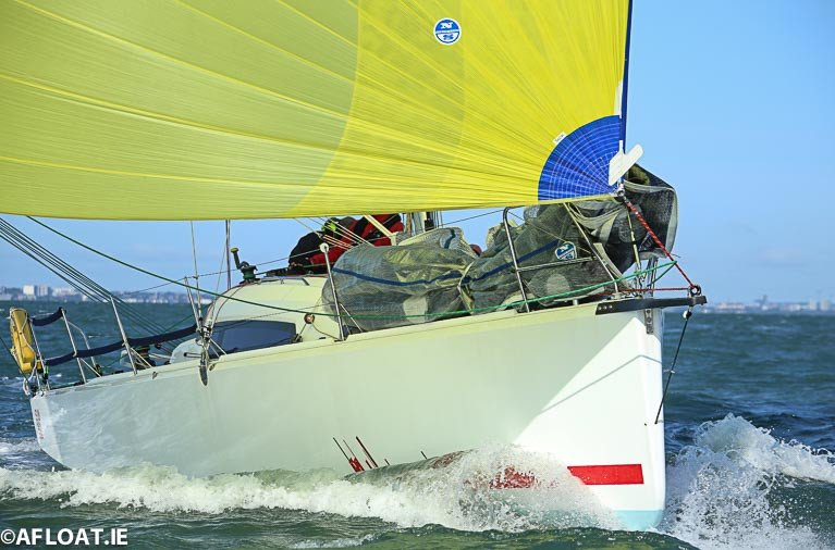 The John O'Gorman skippered Sunfast 3600 'Hot Cookie' leads the DBSC Spring Chicken Series