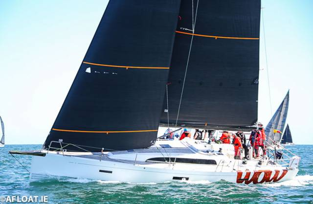The new WOW, an XP44 from the Royal Irish Yacht Club, skippered by George Sisk is entered for the ICRA Nationals at the Royal St. George Yacht Club