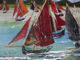 Red Sails by Pete Hogan