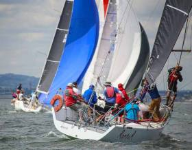 Royal Irish yacht Raptor (Denis Hewitt) was third in Cruiser 1 IRC in Thursday's DBSC racing