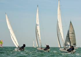 The INSS has launched an inter–company competition and networking through sailboat racing