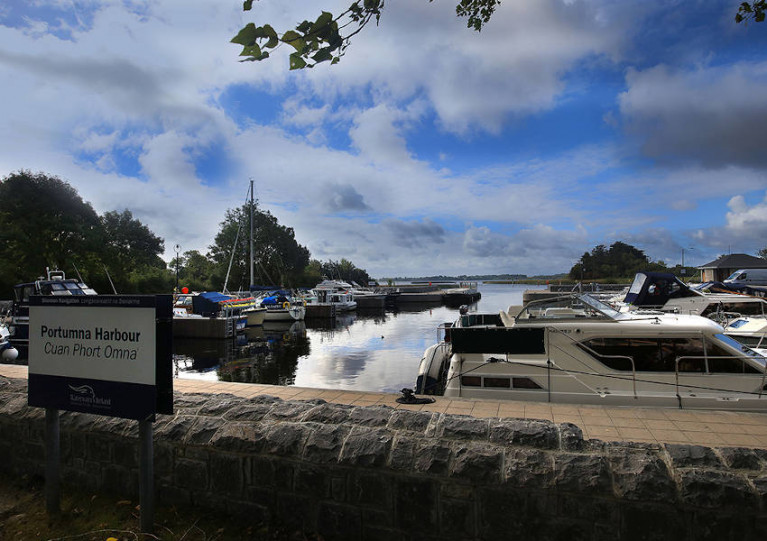 Portumna Harbour on the Shannon Navigation