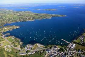 Schull Harbour in West Cork