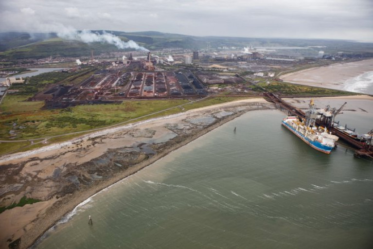 Associated British Ports (ABP) and Tata Steel sign long-term Port Talbot (above) agreement for the major south Wales industrial plant works to export using the Port of Newport near the Welsh capital of Cardiff. Also above AFLOAT adds is the drill-ship Sertao which departed the port in 2019 following a period of lay-up as referred below.