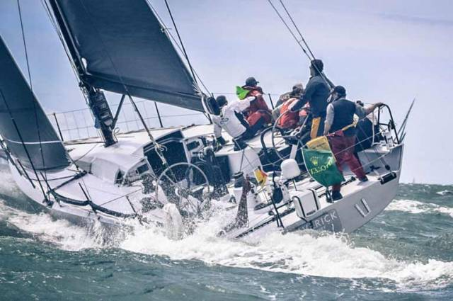 Donegal Sailor Sean McCarter is Newport Bermuda Race Winner on Maverick