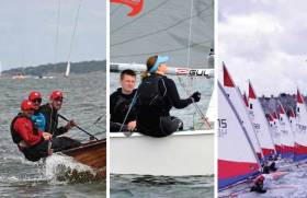 August Sailors of the Month: Ross Kearney (Royal North of Ireland YC), Darragh McCormack of Foynes YC and the National Yacht Club's Hugh O'Connor of the Topper class