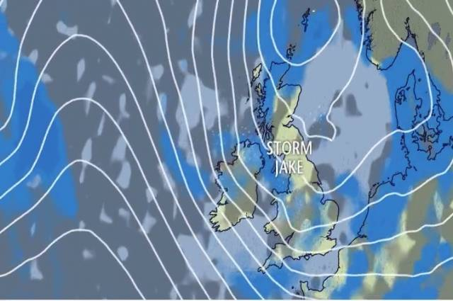 Storm Jake has arrived - See Video below