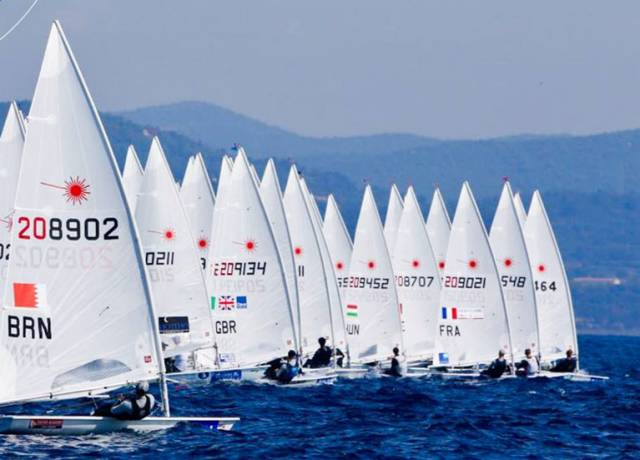 Mid Fleet Results for Irish Laser Sailors in Hyeres, Stronger Winds Expected Tomorrow for Sailing World Cup