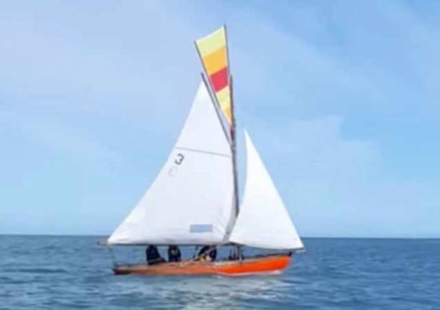 Sailing life resumes for the Golden Oldies at Howth. Roddy Cooper's 1898-built Howth 17 Leila enjoys the sunshine for last Saturday's gentle contest for the world's most senior keelboat class still racing as originally designed.