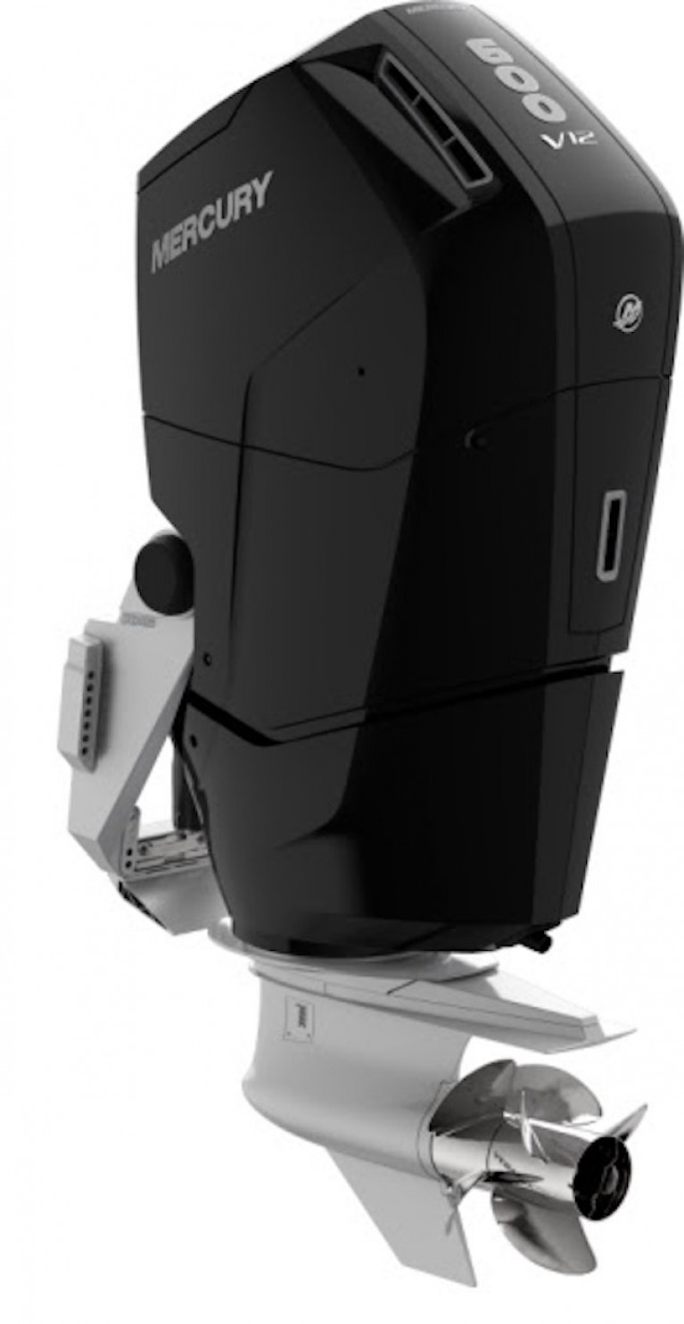 Mercury Marine Introduces All‑New V12 600hp Verado Outboard Engine