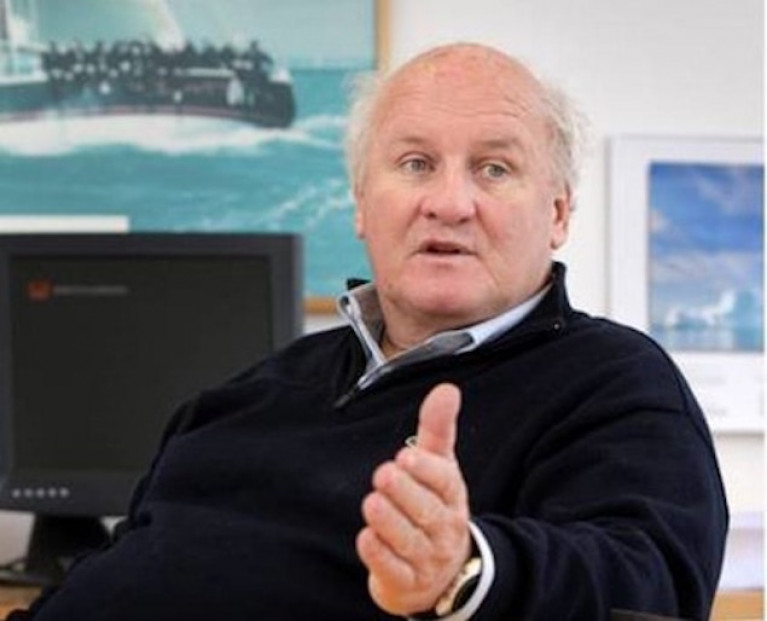Irish Sailing Foundation Chairman Colm Barrington