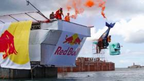 Red Bull Flugtag is returning to Dun Laoghaire Harbour this May