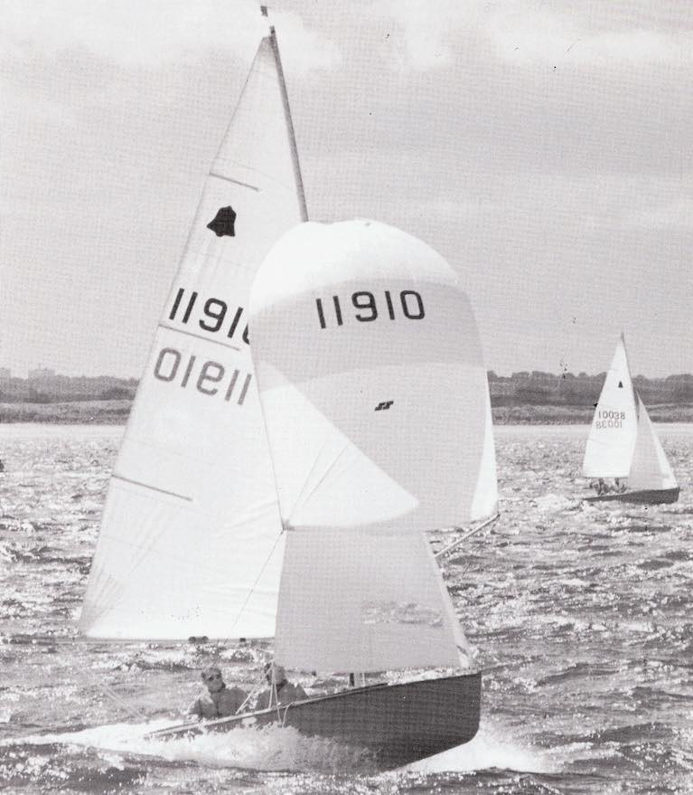 Paul Rowan, Renowned GP14 Dinghy Champion