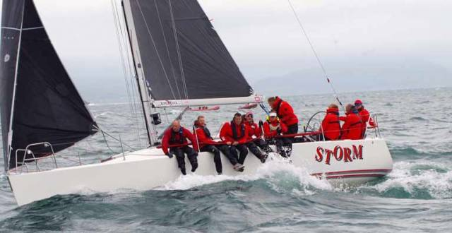 "Celtic Cup Champions –  ""Storm""In IRC 1 ""Storm"" won overall at the Welsh Championships and takes the inaugural Celtic Cup with wins at Pwllheli Wales, the Scottish Series at Tarbert back in May, a second at the Bangor town regatta, and first at Kip Regatta"