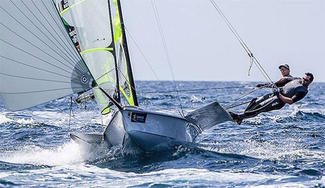 Irish 49er duo Ryan Seaton and Matt McGovern –  the Belfast pairing have split after Rio to pursue separate campaigns
