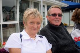 Round the World Irish sailing couple Myra Reid and Paraic O'Maolriada