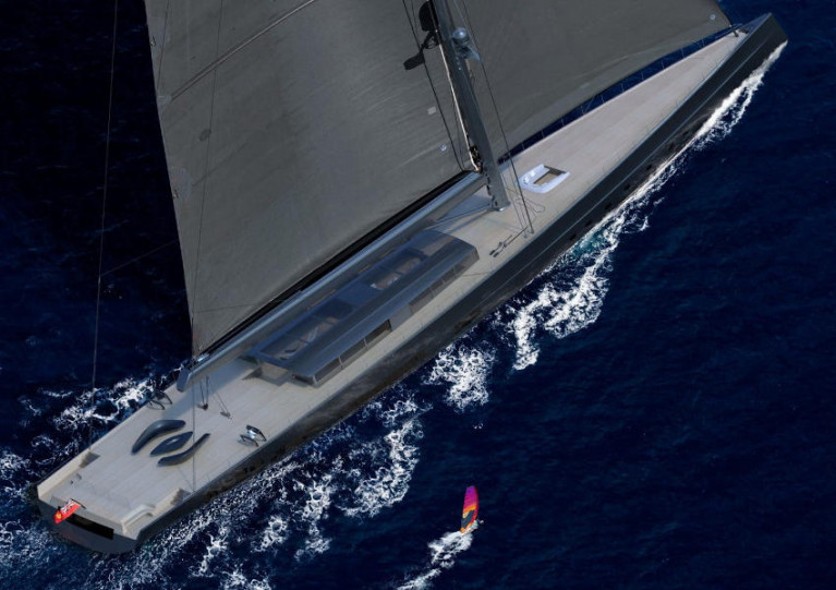 'World's Largest Sloop' Unveiled By Dutch Yacht Builder Royal Huisman