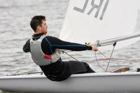 Overall leader after 12 races at the Monkstown Bay Laser League is Darragh O'Sullivan. Scroll down for photo gallery