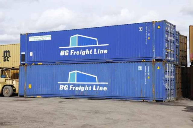 BG Freight Line is one of the companies within the Peel Ports Group, and currently operates 23 containerised vessels
