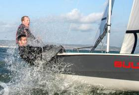 RS400 'Frostie' Series Kicks off on Belfast Lough